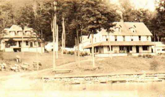 This is the original campus of the State Ranger School.  Students would come to this region to attend this school for Environmental Science and Forestry.Built by the Civilian Conservation Corps (CCC) during the New Deal by Franklin D. Roosevelt.